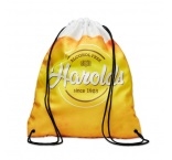 MB3021 - Drawstring bag in durable 150D x 300D 100% Twill Polyester for a fine and soft touch. Min 250 pcs